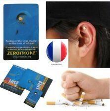 Aimant Anti Tabac Zerosmoke ARRETER DE FUMER Acupuncture Acupression Fumeurs