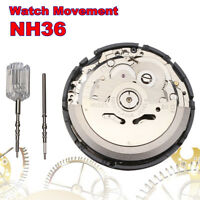NH35 NH36 High Accuracy Automatic Mechanical Watch Wrist Movement Day Date Set#