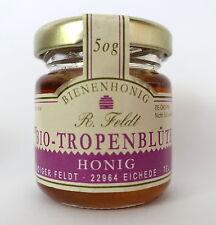 Bio Honig Tropenblüten 100% Bienenhonig 50g Imker Premiumqualität ! DE-ÖKO-006