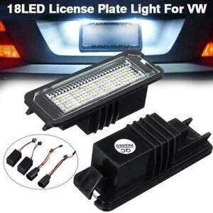 Luce targa a LED per VW GOLF MK4 MK5 MK6 MK7 Passat Polo 2PCS