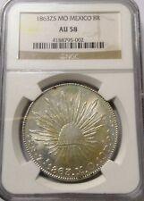 MEXICO 1863zs 8 reales mexicana