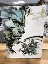 METAL GEAR SOLID ART OF THE HD COLLECTION BOOK HARDCOVER