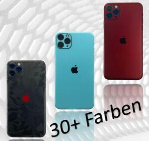 Für iPhone 11 12 X Pro Max Mini Xr  6 7 Skin Folie Case 3M Aufkleber Schutzfolie