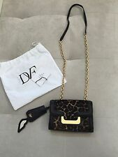 NEW Diane von Furstenberg DVF Harper Leopard Crossbody Handbag Bag