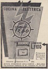 Z4095 Cucina elettrica FEBO - Pubblicità d'epoca - 1931 vintage advertising
