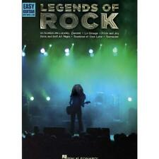 % LEGENDS OF ROCK Easy Guitar Noten TAB - Gitarre Songbook - HL00702258 %