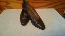 Women's Clarks Images Heeled Court Shoes Size UK 5 Brown SH1
