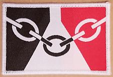 TEN Black country badge West Midlands Industrial glasswork badges patches flag