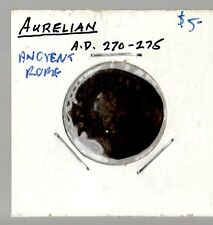 AURELIAN ANCIENT ROME COIN 270-275 A.D.
