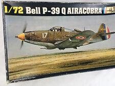 Heller 271 1:72 VTG Military Airplane Model Kit Plastic Bell P-39Q Airacobra