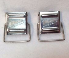 2 Milwaukee hard case metal clips for most 12V and 18V Cases - New