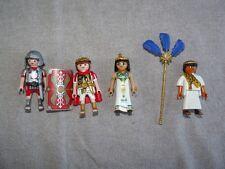 PLAYMOBIL RARE NEW THEME ROMAINS ÉGYPTIEN CLEOPATRE CÉSAR EGYPTIEN SOLDAT ROMAIN