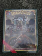 MB HEROQUEST  EXPANSION BOX SET, RETURN OF THE WITCH LORD, BNIB