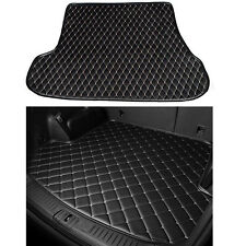 For Honda 10th Civic 16+ Black Leather Car Cargo Rear Trunk Mat Boot Liner Tray