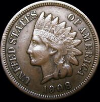1908-S Indian Cent Penny ---- NICE L@@K  ---- #D616