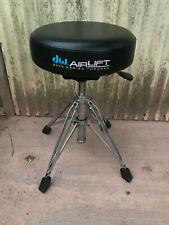 DW 9000 Series Airlift Round Drum Throne Seat CHair Seat