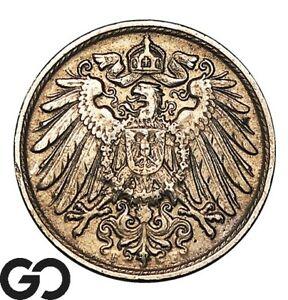 1914 Germany 10 Pfennig