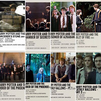 Harry Potter book Movie Photos Photocard Prints J.K.Rowling Hermione Ron Weasley