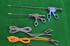 2pc Laparoscopic Bipolar Sealer Cutter With Cable 5mmx330mm Surgical Instruments