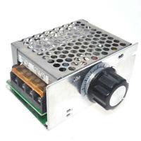 Module contrôleur vitesse moteur Régulateur tension Gradateur 4000W 220V AC SCR
