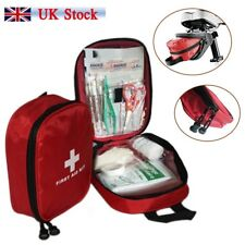 First Aid Medical Emergency Kit Carry Bag Pouch Camping Car Holiday Travel New