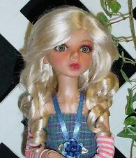 "Monique Gold Wig ""Paige"" Size 6/7 in Light Peach w Bleach Blonde"