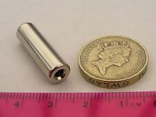 1 of 7.5mm x 25mm with 3mm hole Cylinder Magnets Neodymium Rare Earth Magnetic