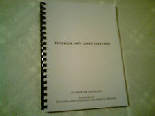 Find Your Own Tissue Salt Cure by Dr Frank Eastwood - Homoeopathy Book