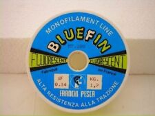 1 bobina 100 metri di monofilo bluefin dia 0,14mm mf x29