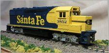 Athearn 4583 Ho Scale Gp50 Ph Ii Powered Diesel Santa Fe Nos