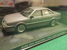 JAMES BOND CARS COLLECTION 072 AUDI 200 QUATTRO THE LIVING DAYLIGHTS