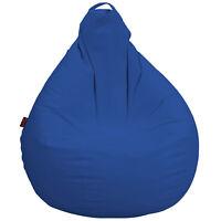 Puff Pera Natur Confort Azul. The Original Loconfort