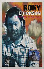 Roky Erickson 1995 All That May Do My Rhyme Promo Poster 13th Floor Elevators