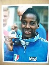 Original Press Photo- World Championships FIONA MAY, Long Jump of 7.11 Meters