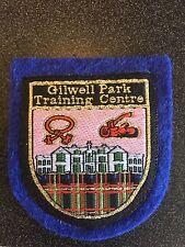BSA BOY SCOUT PATCH GILWELL PARK TRAINING CENTERE INTERNATIONAL UK TARTAN PLAID