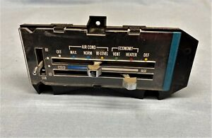 1970-81 CHEVY CAMARO A/C AIR CONDITIONING VENT- HEAT CONTROLS AC HEAT SWITCH