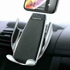 Automatic Clamping Qi Wireless Car Charger Mount  Bracket Air Vent Phone Holder