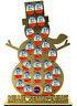 Personalised Snowman Advent Calendar Kinder Egg Terrys Chocolate Orange
