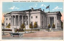"""(216)  Postcard of """"Memorial Continental Hall, Washington, D.C. Posted 1926"""