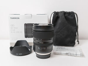 Tamron 24-70mm F2.8 Di VC USD G2 Lens for Canon ~Excellent Condition