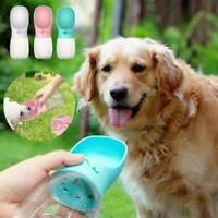 Handheld Portable Dog Cat Pet Water Bottle Cup Drinking Travel Outdoor Feeder Go