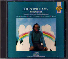 John WILLIAMS & FRIENDS Bach Mozart Vivaldi Purcell Daquin Telemann CD Guitar