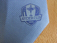 RYDER Cup 2012 Blue GOLF Tournament Tie - SEE PICTURES