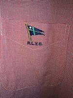 Ralph Lauren Men L/S Check Button Down Sz XXL Red/White Gingham RLYC 100% Cotton