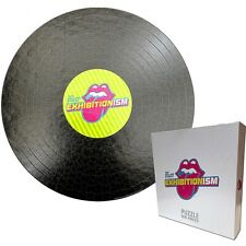 Rolling Stones Exhibitionism Record  500 piece round jigsaw puzzle  (ro)