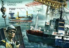 MV ANGELN Container Vessel & IRINA TRADER Transport Cargo Ship Stamp Sheet
