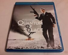 JAMES BOND 007 QUANTUM OF SOLACE Blu Ray avec DANIEL CRAIG