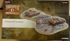 Corgi CC61006 World War 2 T-34 & Tiger 1 Tank Kursk Diorama  Ltd Ed 0001 of 1010