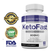 BEST KETOFAST WEIGHT LOSS FORMULA 60 CAPS KETO FAST