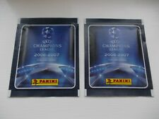 football stickers panini champions league 2006-2007 x 2 unopened packets